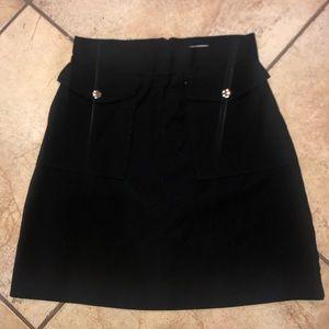 H&M black skirt size 10